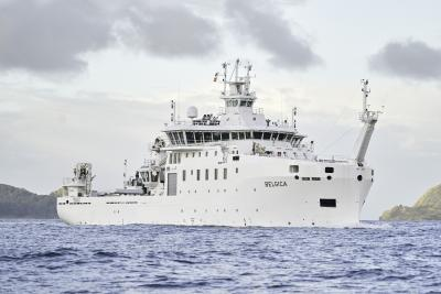 The new research vessel Belgica. ©Freire Shipyard