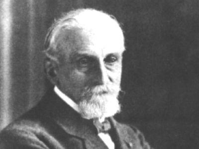 Portret of Gustave Gilson (1859-1944), North Sea explorer and former director of the Royal Belgian Institute of Natural Sciences