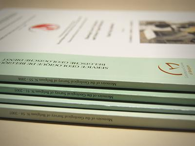 Geological Survey of Belgium Professional Papers