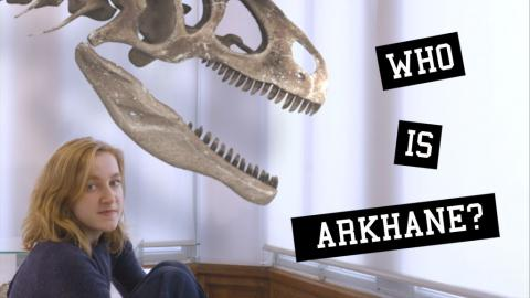 Video series about Arkhane, the new Jurassic predator, on display in our Gallery of Evolution.