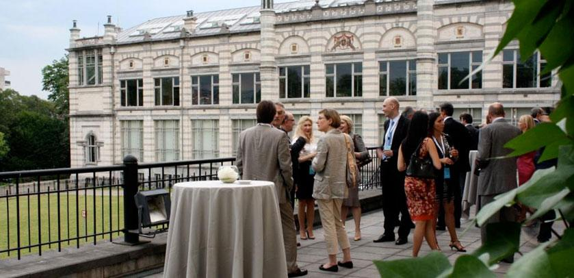 Event on the Museum terrace